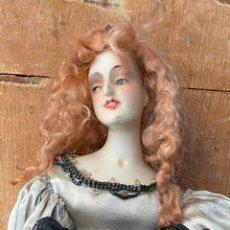 Muñecas Porcelana: CURIOSA MUÑECA EN CERA PRINCIPIOS DE SIGLO XX. Lote 212510297
