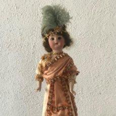 Bonecas Porcelana: MUÑECA DE PORCELANA CABARET , CABARETERA PRINCIPIO S.XX.. Lote 212756330
