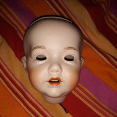 Muñecas Porcelana: CABEZA MUÑECA ANTIGUA. Lote 213461560