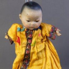 Muñecas Porcelana: MUÑECA ARMAND MARSEILLE-BEBÉ ASIÁTICO AÑOS 20-OJOS DORMILONES-NUM.2062. Lote 213794330