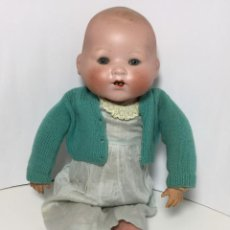 Muñecas Porcelana: MUÑECO BEBE ANTIGUO PORCELANA Y TRAPO. Lote 213936027
