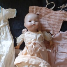 Muñecas Porcelana: MUÑECO ANTIGUO. A M GERMANY. Lote 213948471