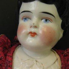 Muñecas Porcelana: MUÑECA DESDE 1880 CABEZA Y HOMBROS DE PORCELANA LLAMADA ETHEL HECHA EN ALEMANIA. Lote 214463171