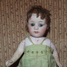 Muñecas Porcelana: NIÑA POUTY,GREBÜDER HEUBACH,PORCELANA,GERMANY,CIRCA 1910-12. Lote 215496071