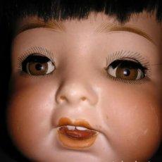 Bambole Porcellana: MUÑECA AÑOS 20 HEUBACH KOPPELSDORF 342-8, TIENE LENGUA. Lote 216848512