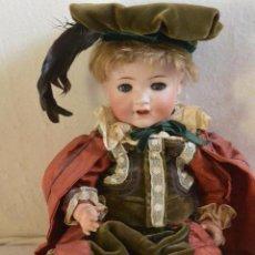 Muñecas Porcelana: EXTRAORDINARIO MUÑECO PORCELANA KAMMER AND REINHART. Lote 217066850