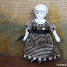 Bambole Porcellana: MUÑECA EN PORCELANA ANTIGUA CHINA DOLL. Lote 217228793
