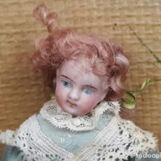 Muñecas Porcelana: MUÑECA EN PORCELANA ANTIGUA. Lote 217228817