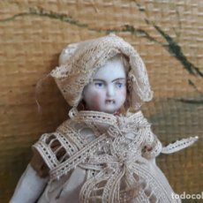Muñecas Porcelana: MUÑECA EN PORCELANA ANTIGUA. Lote 217228862