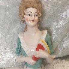 Poupées Porcelaine: MUÑECA HALF DOLL PORCELANA ESMALTADA. Lote 217236705