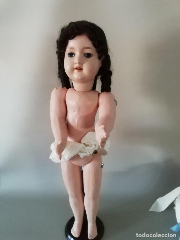 Muñecas Porcelana: PRECIOSA ARMAND MARSEILLE, 55CM APROX,MARCADA EN LA NUCA Y TAMBIEN EN EL CUERPO ,CON UNA (K) - Foto 10 - 195699687