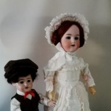Muñecas Porcelana: PRECIOSO MUÑECO CHICO, ACOMPAÑANTE, DE PRODUCCIÓN ALEMANA. Lote 217284468