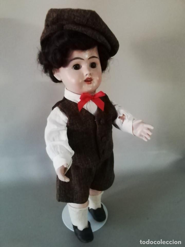 Muñecas Porcelana: PRECIOSO MUÑECO CHICO, ACOMPAÑANTE, DE PRODUCCIÓN ALEMANA - Foto 2 - 217284468