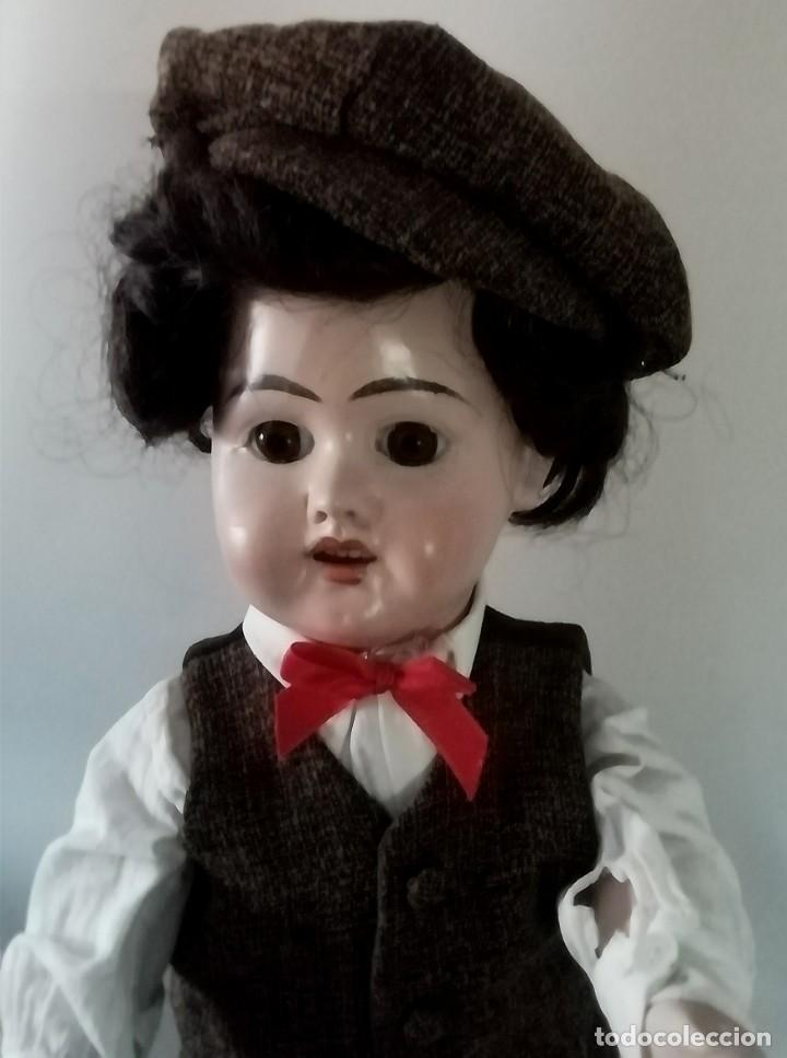 Muñecas Porcelana: PRECIOSO MUÑECO CHICO, ACOMPAÑANTE, DE PRODUCCIÓN ALEMANA - Foto 3 - 217284468