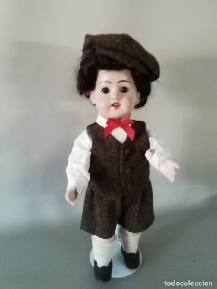 Muñecas Porcelana: PRECIOSO MUÑECO CHICO, ACOMPAÑANTE, DE PRODUCCIÓN ALEMANA - Foto 5 - 217284468