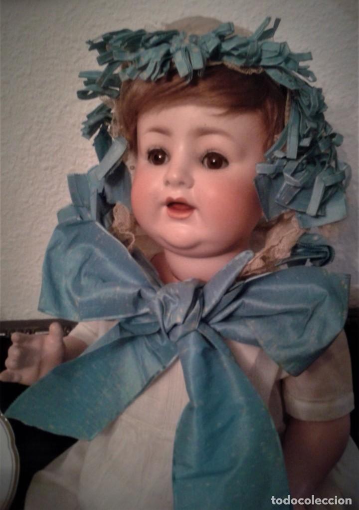 Muñecas Porcelana: BEBE PORCELANA ANTIGUO BURGGRUB 169 (GERMANY) PORZENLLAMBRICK,MARCADA(SIN REPINTES ,NI RESTAURACION - Foto 2 - 140145910