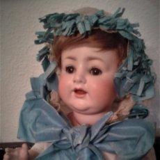 Muñecas Porcelana: BEBE PORCELANA ANTIGUO BURGGRUB 169 (GERMANY) PORZENLLAMBRICK,MARCADA(SIN REPINTES ,NI RESTAURACION. Lote 140145910