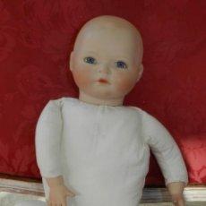 Bonecas Porcelana: MUÑECO BEBE DE PORCELANA ALEMAN DE REPRODUCCIÓN, CON LAS SIGUIENTES MARCAS EN LA NUCA, AP SMR 1991 C. Lote 219744141