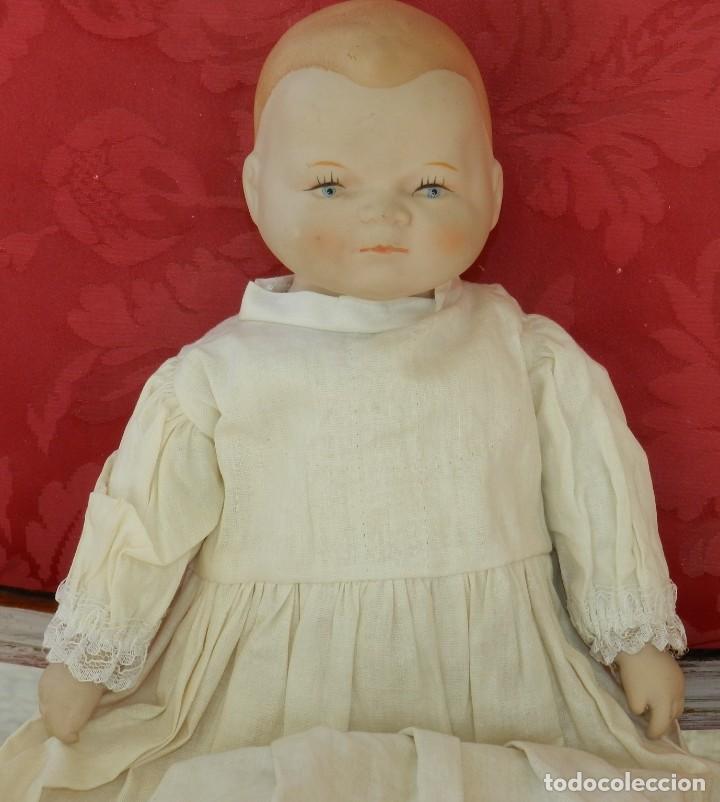 Muñecas Porcelana: MUÑECO DE PORCELANA JAPON DE REPRODUCCION, TAL COMO SE VE EN LAS FOTOGRAFIAS PUESTAS EN CABEZA, CAB - Foto 2 - 219747652