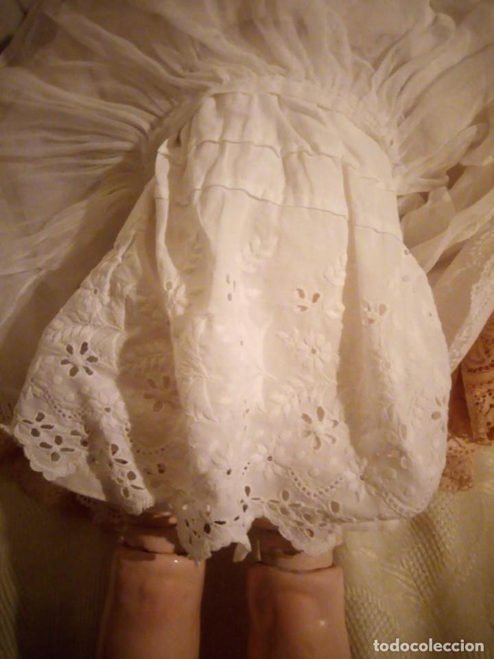 Muñecas Porcelana: Antigua muñeca made in germany 18/10,cabeza de porcelana biscuit,cuerpo de madera articulado. - Foto 11 - 222953772