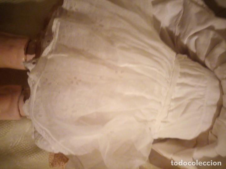 Muñecas Porcelana: Antigua muñeca made in germany 18/10,cabeza de porcelana biscuit,cuerpo de madera articulado. - Foto 12 - 222953772