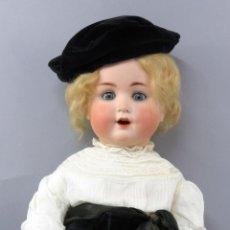 Muñecas Porcelana: MUÑECA BEBÉ CATTERFELDER PUPPEN FABRIK CABEZA PORCELANA GERMANY 201 1910 CUERPO COMPOSICIÓN 51 CM. Lote 223241726
