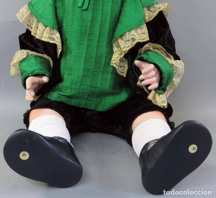 Muñecas Porcelana: Bebé Armand Marseille My dream baby 351 cabeza porcelana cuerpo madera ojo durmiente Germany 60 cm - Foto 4 - 223479545