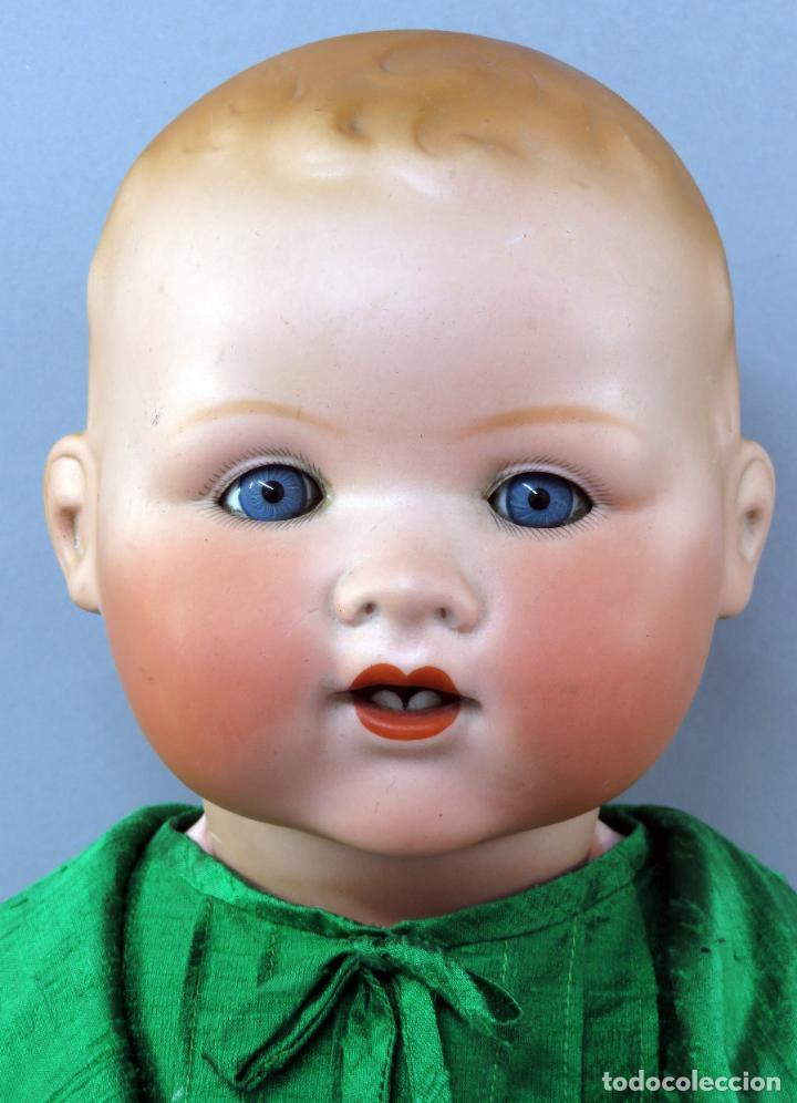 Muñecas Porcelana: Bebé Armand Marseille My dream baby 351 cabeza porcelana cuerpo madera ojo durmiente Germany 60 cm - Foto 9 - 223479545