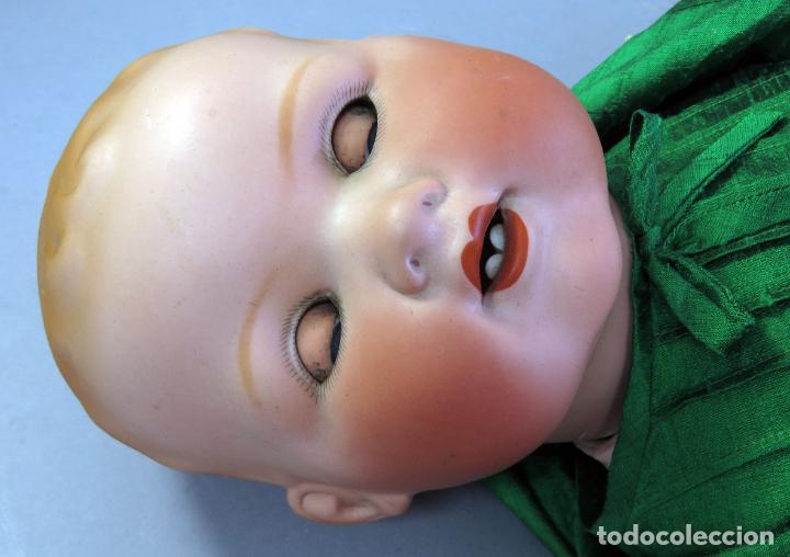 Muñecas Porcelana: Bebé Armand Marseille My dream baby 351 cabeza porcelana cuerpo madera ojo durmiente Germany 60 cm - Foto 17 - 223479545