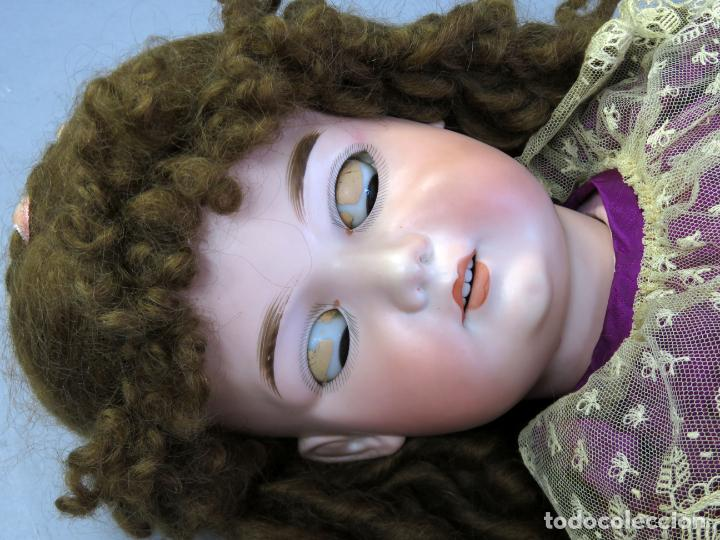 Muñecas Porcelana: Muñeca Armand Marseille cabeza porcelana cuerpo madera articulado ojo durmiente marca nuca 70 cm - Foto 15 - 223481650