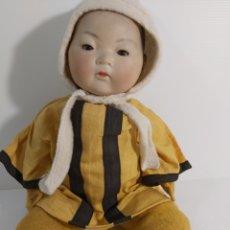 Muñecas Porcelana: RARO MUÑECO ORIENTAL ARMAND MARSEILLE. Lote 223561318