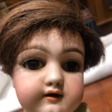 Muñecas Porcelana: MUÑECA ANTIGUA HANDWERCK PORCELANA. ALEMANIA. ORIGINAL ENTRE 1890-1910.. Lote 223971970