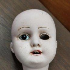 Poupées Porcelaine: CABEZA MUÑECA PORCELANA ALEMANA. Lote 225747755