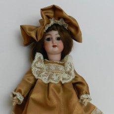 Muñecas Porcelana: ANTIGUA MUÑECA CON CABEZA DE PORCELANA ALEMANA AÑOS 20 - MARCAS EN LA NUCA SIMON & HALBIG GERMANY 2.. Lote 226637270