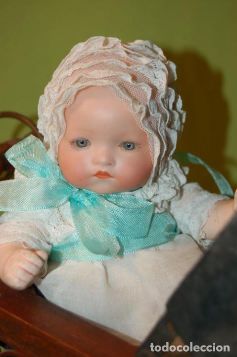 Muñecas Porcelana: baby dream armand marseille y cochecito - Foto 2 - 228309430