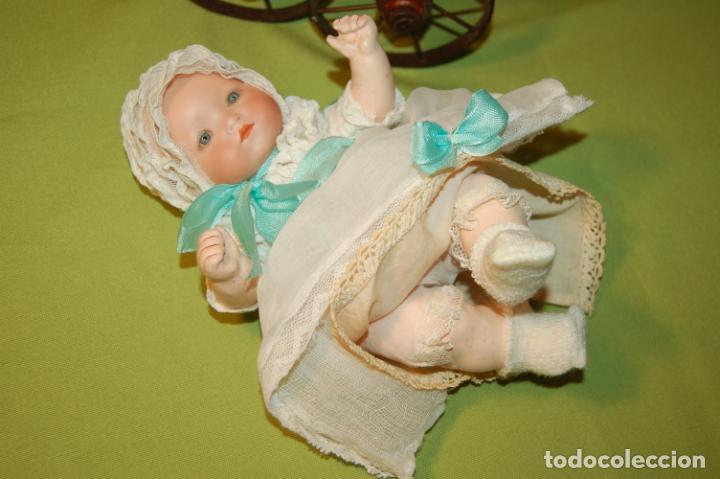Muñecas Porcelana: baby dream armand marseille y cochecito - Foto 6 - 228309430
