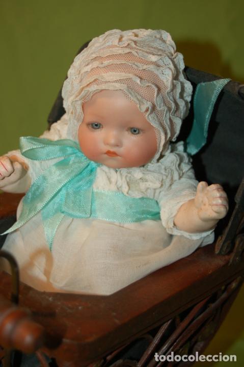 Muñecas Porcelana: baby dream armand marseille y cochecito - Foto 8 - 228309430