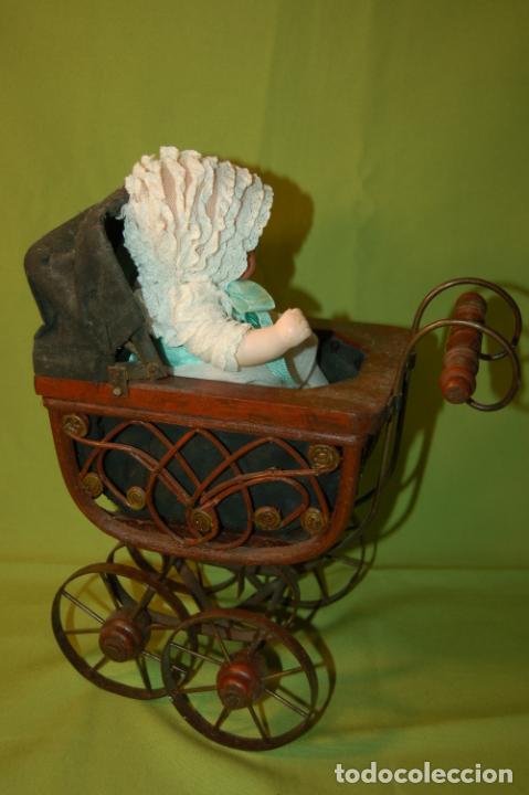 Muñecas Porcelana: baby dream armand marseille y cochecito - Foto 9 - 228309430