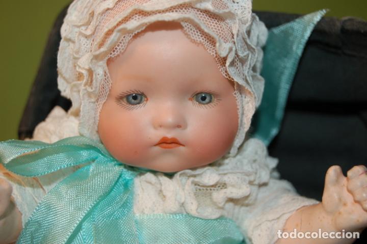 Muñecas Porcelana: baby dream armand marseille y cochecito - Foto 12 - 228309430
