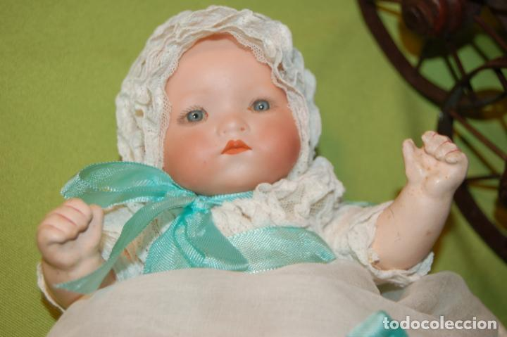 Muñecas Porcelana: baby dream armand marseille y cochecito - Foto 14 - 228309430