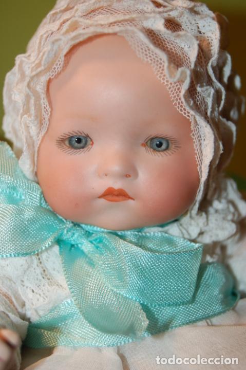 Muñecas Porcelana: baby dream armand marseille y cochecito - Foto 15 - 228309430