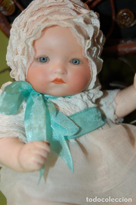 Muñecas Porcelana: baby dream armand marseille y cochecito - Foto 17 - 228309430