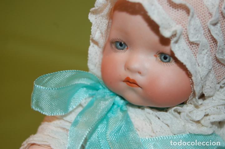 Muñecas Porcelana: baby dream armand marseille y cochecito - Foto 18 - 228309430