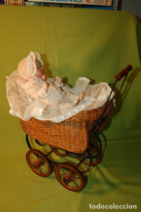 Muñecas Porcelana: baby dream armand marseille boca cerrada y cochecito - Foto 9 - 228341545