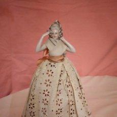 Muñecas Porcelana: MUÑECA DE PORCELANA ALEMANA,BISCUIT NUMERADA. 1900/1910. Lote 233002015