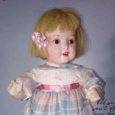 Muñecas Porcelana: MUÑECA DE COMPOSICIÓN HEUBACH. 45 CMS. Lote 233156135