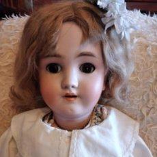 Muñecas Porcelana: ANTIGUA MUÑECA HEINRICH HANDWERCK SIMON & HALBIG GERMANY 5 CABEZA BISCUIT,SIGLO XIX. Lote 233973565