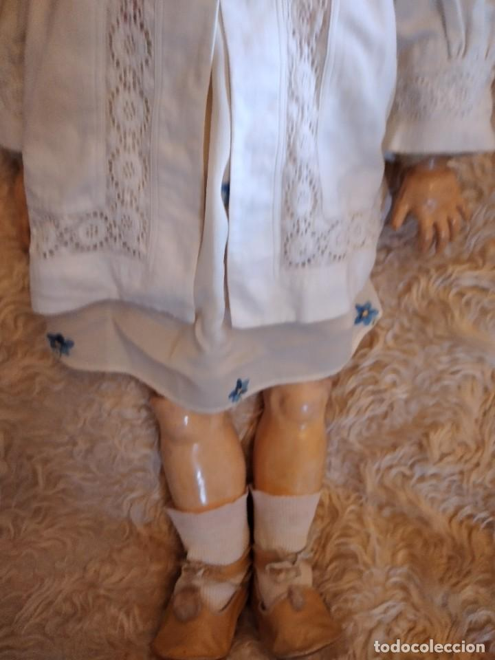 Muñecas Porcelana: Antigua muñeca heinrich handwerck simon & halbig germany 5 cabeza biscuit,siglo xix - Foto 5 - 233973565