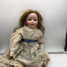 Muñecas Porcelana: MUÑECA ALEMANA GEBRUDER HEUBACH 60 CM. Lote 234029395