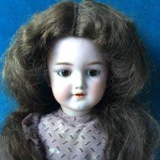 Muñecas Porcelana: ANTIGUA MUÑECA SIMON AND HALBING 1249. MODELO SANTA. 1898. Lote 234904960
